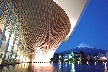 静岡県富士山世界遺産センター様外観