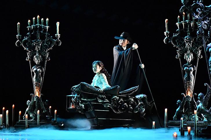 『オペラ座の怪人』 【撮影:阿部章仁】