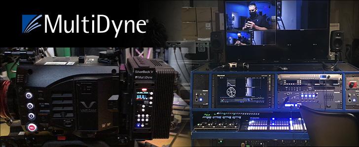 Panasonic CINE LIVEワークフローの実証テストでMultiDyneを採用