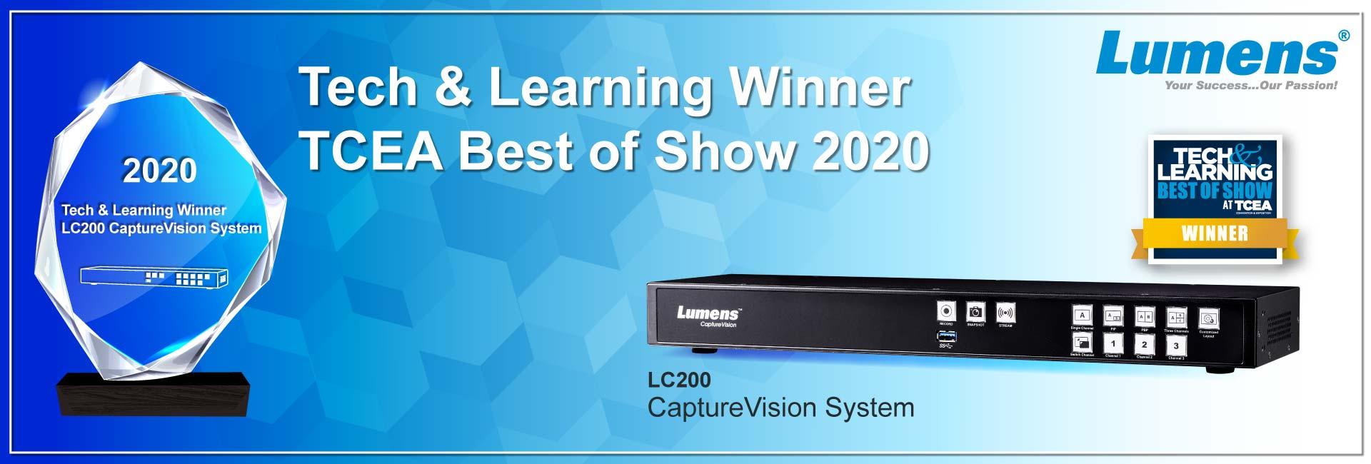 Lumens LC200 Show winner